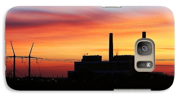 Galaxy Case featuring the photograph A Gentleman Sunrise by Bill Kesler