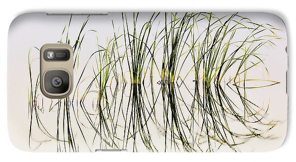 Galaxy Case featuring the photograph Graceful Grass by Bill Kesler