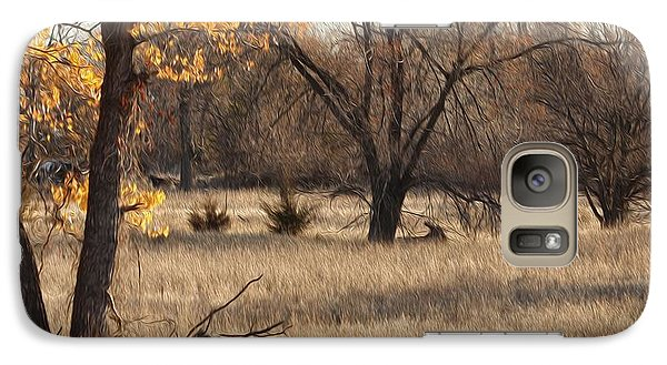 Galaxy Case featuring the photograph Shades Of Autumn by Bill Kesler