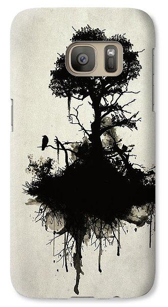 Last Tree Standing Galaxy S7 Case by Nicklas Gustafsson