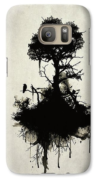 Last Tree Standing Galaxy S7 Case by Nicklas Gustafsson