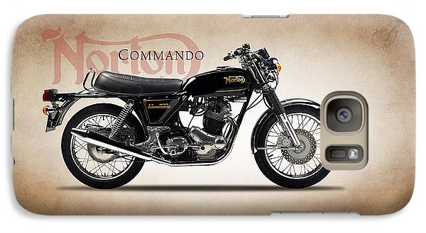 Norton Commando 1974 Galaxy S7 Case