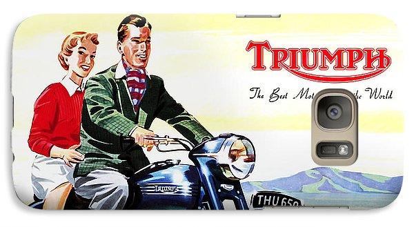 Triumph 1953 Galaxy Case by Mark Rogan