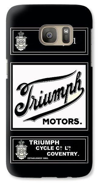 Triumph 1911 Galaxy S7 Case by Mark Rogan