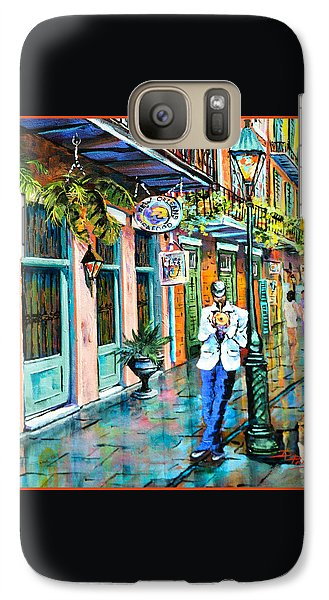 Galaxy Case featuring the painting Jazz'n by Dianne Parks