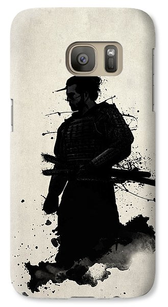 Galaxy Case featuring the painting Samurai by Nicklas Gustafsson