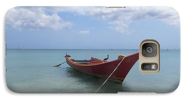 Galaxy Case featuring the photograph Aruba by Jean Marie Maggi