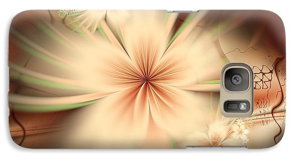 Galaxy Case featuring the digital art As In A Dream by Michelle H