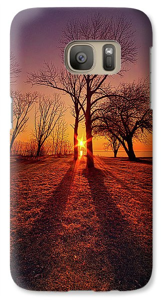 Galaxy Case featuring the photograph As Sure As The Sun Will Rise by Phil Koch