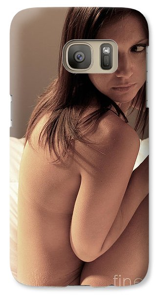 Galaxy Case featuring the photograph As The Bed Rises by Jacob Smith