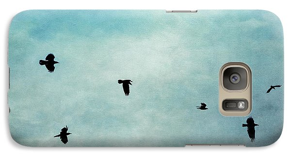 As The Ravens Fly Galaxy S7 Case by Priska Wettstein