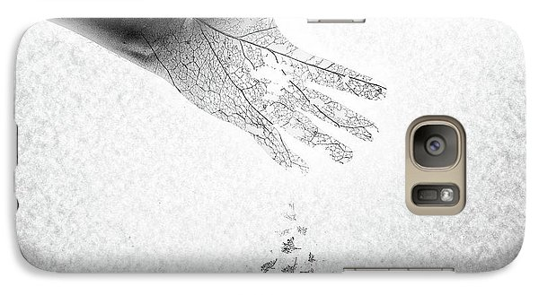 Galaxy Case featuring the photograph As You Once Were, So You Will Soon Be by Mark Fuller