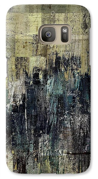 Galaxy Case featuring the painting Ascension - C03xt-159at2c by Variance Collections