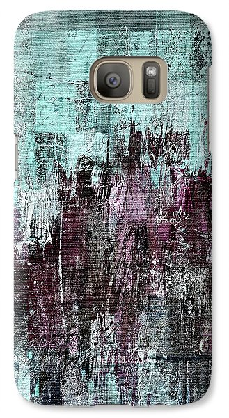 Galaxy Case featuring the digital art Ascension - C03xt-161at2c by Variance Collections