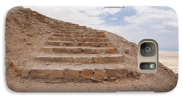 Galaxy Case featuring the photograph Stairway To Heaven - Masada, Judean Desert, Israel by Yoel Koskas