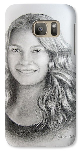 Galaxy Case featuring the painting Ashley by Patricia Schneider Mitchell
