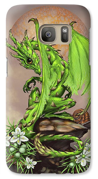 Asparagus Dragon Galaxy S7 Case by Stanley Morrison
