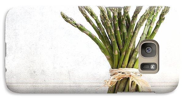 Asparagus Vintage Galaxy S7 Case by Jane Rix