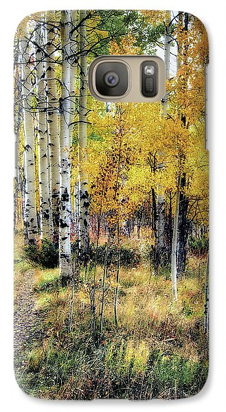 Galaxy Case featuring the photograph Aspen Clone by Jim Hill