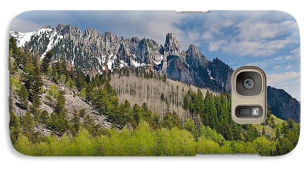 Galaxy Case featuring the photograph Aspen Grove Below The Ophir Needles by Jeff Goulden