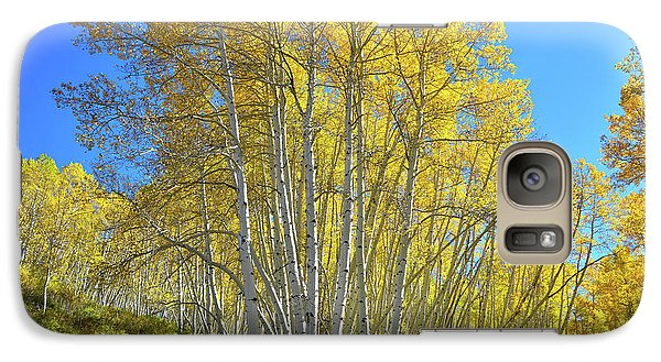 Galaxy Case featuring the photograph Aspen Lane by Ray Mathis