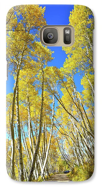 Galaxy Case featuring the photograph Aspen Road by Ray Mathis