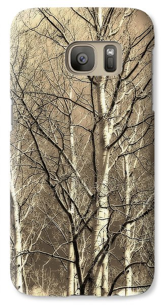 Galaxy Case featuring the photograph Aspen Sky White Mountains Arizona by Donna Greene