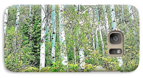 Galaxy Case featuring the photograph Aspen Splender Steamboat Springs by Joseph Hendrix