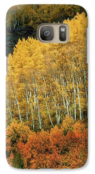 Galaxy Case featuring the photograph Aspen Waves by Dana Sohr