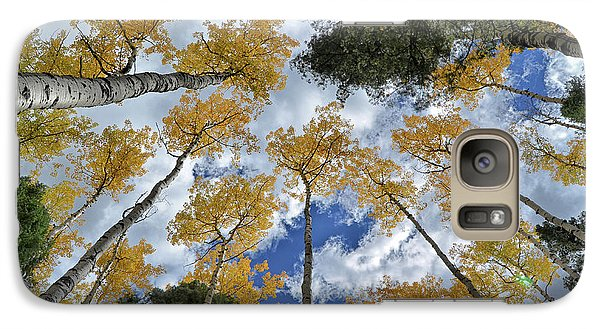 Galaxy Case featuring the photograph Aspens Reaching by Kevin Munro