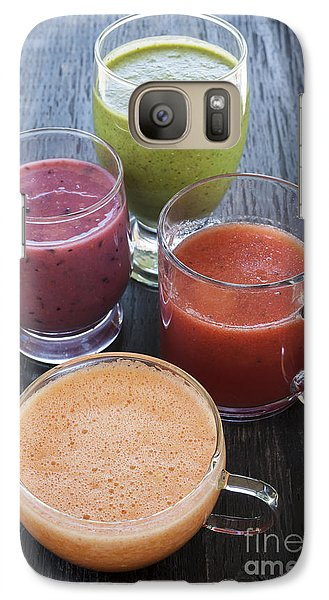 Assorted Smoothies Galaxy S7 Case by Elena Elisseeva