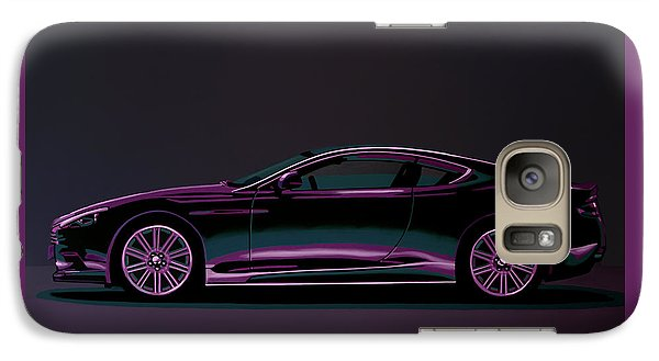 Beetle Galaxy S7 Case - Aston Martin Dbs V12 2007 Painting by Paul Meijering