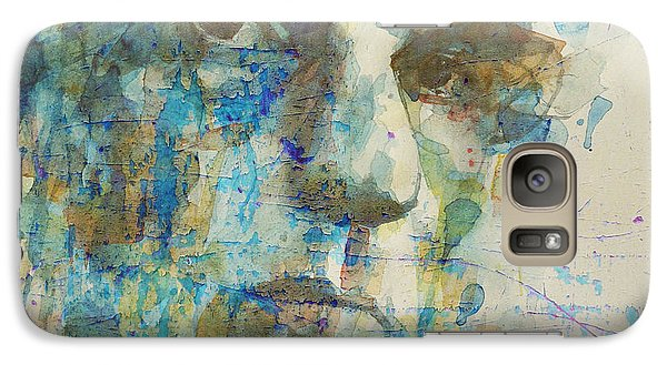 Galaxy Case featuring the mixed media Astral Weeks by Paul Lovering