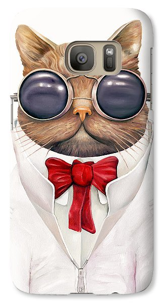 Astro Cat Galaxy S7 Case