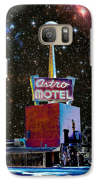 Galaxy Case featuring the photograph Astro Motel by Jim and Emily Bush