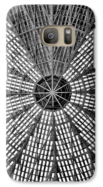 Galaxy Case featuring the photograph Astrodome 9 by Benjamin Yeager