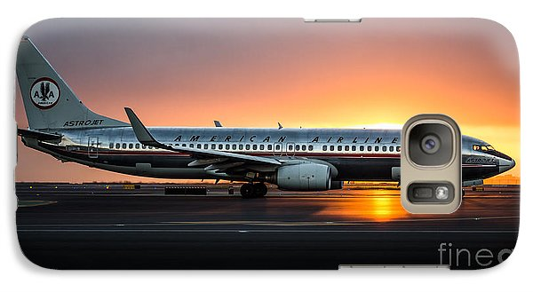 Galaxy Case featuring the photograph Astrojet by Alex Esguerra