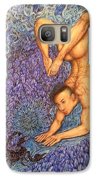 Astrology Zodiac Sign Scorpio  Galaxy Case by Kent Chua