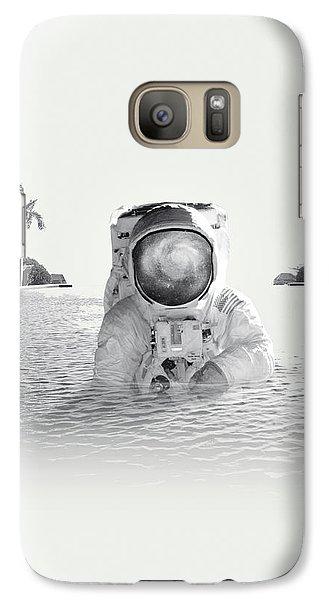 Astronaut Galaxy S7 Case - Astronaut by Fran Rodriguez
