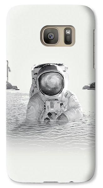 Astronaut Galaxy Case by Fran Rodriguez