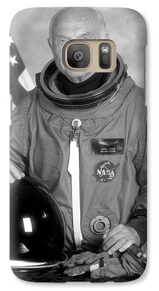Astronaut John Glenn Galaxy S7 Case by War Is Hell Store