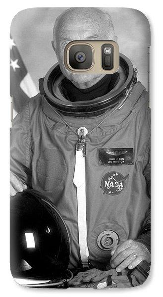 Astronaut Galaxy S7 Case - Astronaut John Glenn - 1998 by War Is Hell Store