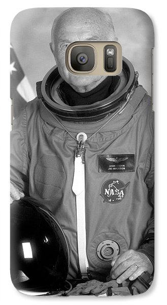 Astronaut John Glenn Galaxy Case by War Is Hell Store