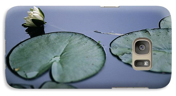 Galaxy Case featuring the photograph At Claude Monet's Water Garden 2 by Dubi Roman