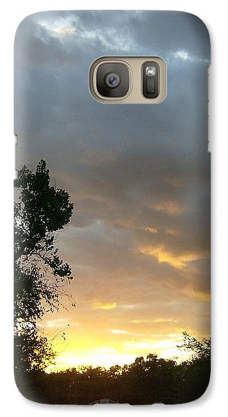 Galaxy Case featuring the photograph At Daybreak by Skyler Tipton
