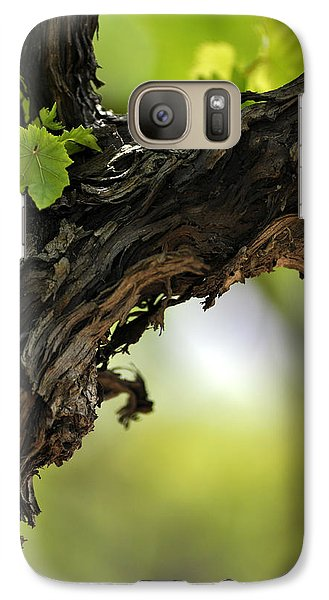 Galaxy Case featuring the photograph At Lachish Vineyard by Dubi Roman