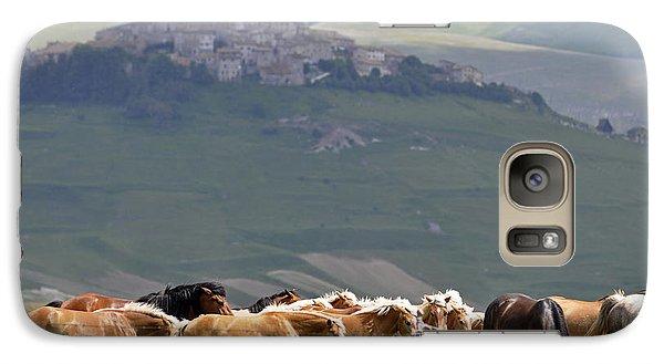 Castelluccio Di Norcia, Parko Nazionale Dei Monti Sibillini, Italy Galaxy S7 Case