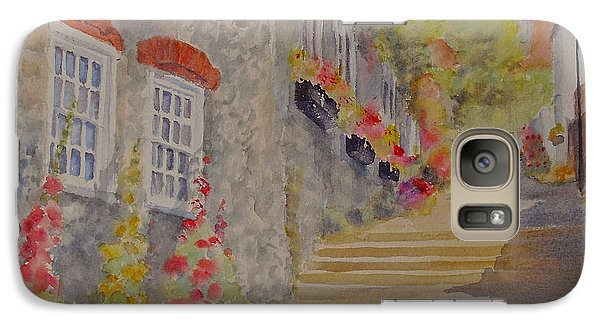 Galaxy Case featuring the painting At The Bottom Of Church Hill Hythe Kent by Beatrice Cloake