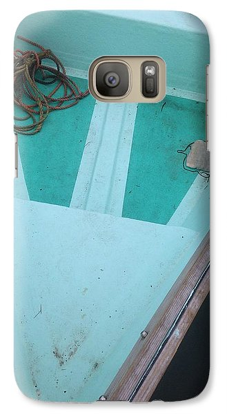 Galaxy Case featuring the photograph At The Dock by Olivier Calas