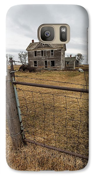 Galaxy Case featuring the photograph At The Gate  by Aaron J Groen